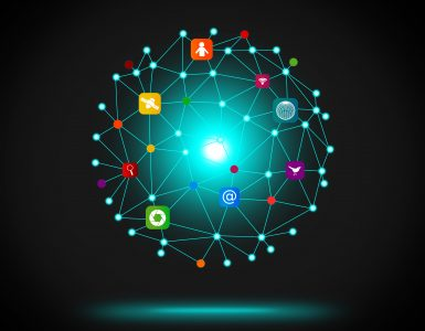 IT - Information Technology network concept